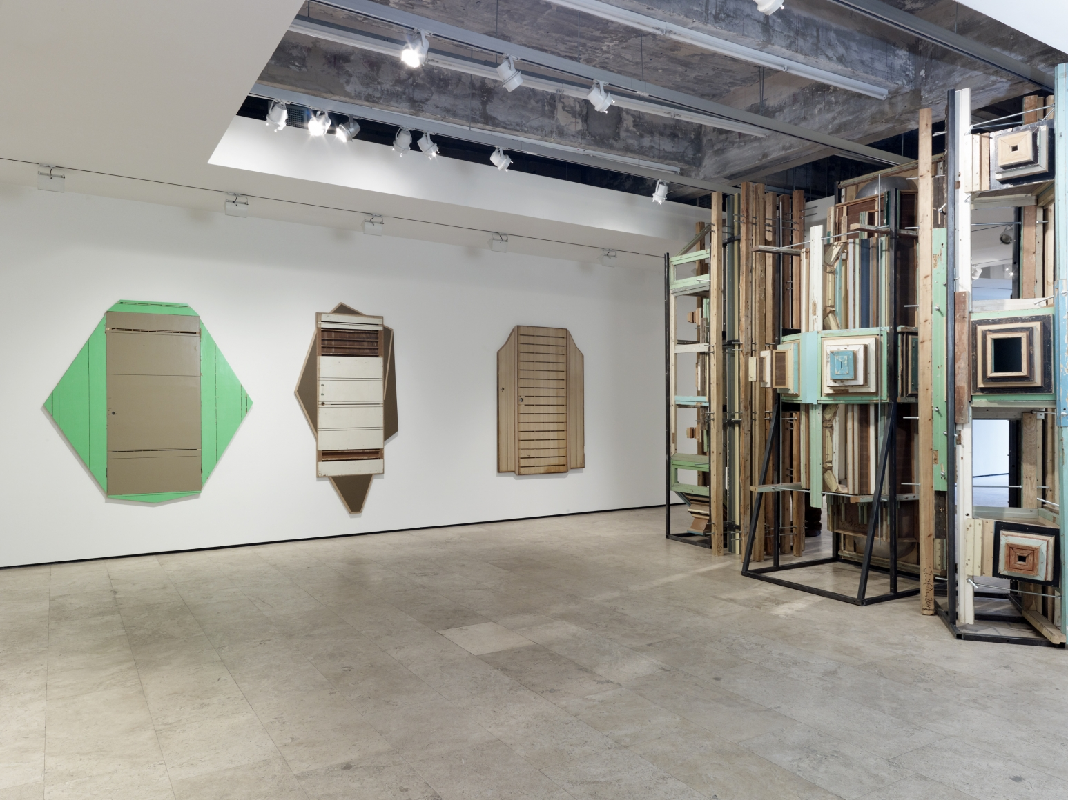 LIU WEI Installation view, Lehmann Maupin, 540 West 26th Street