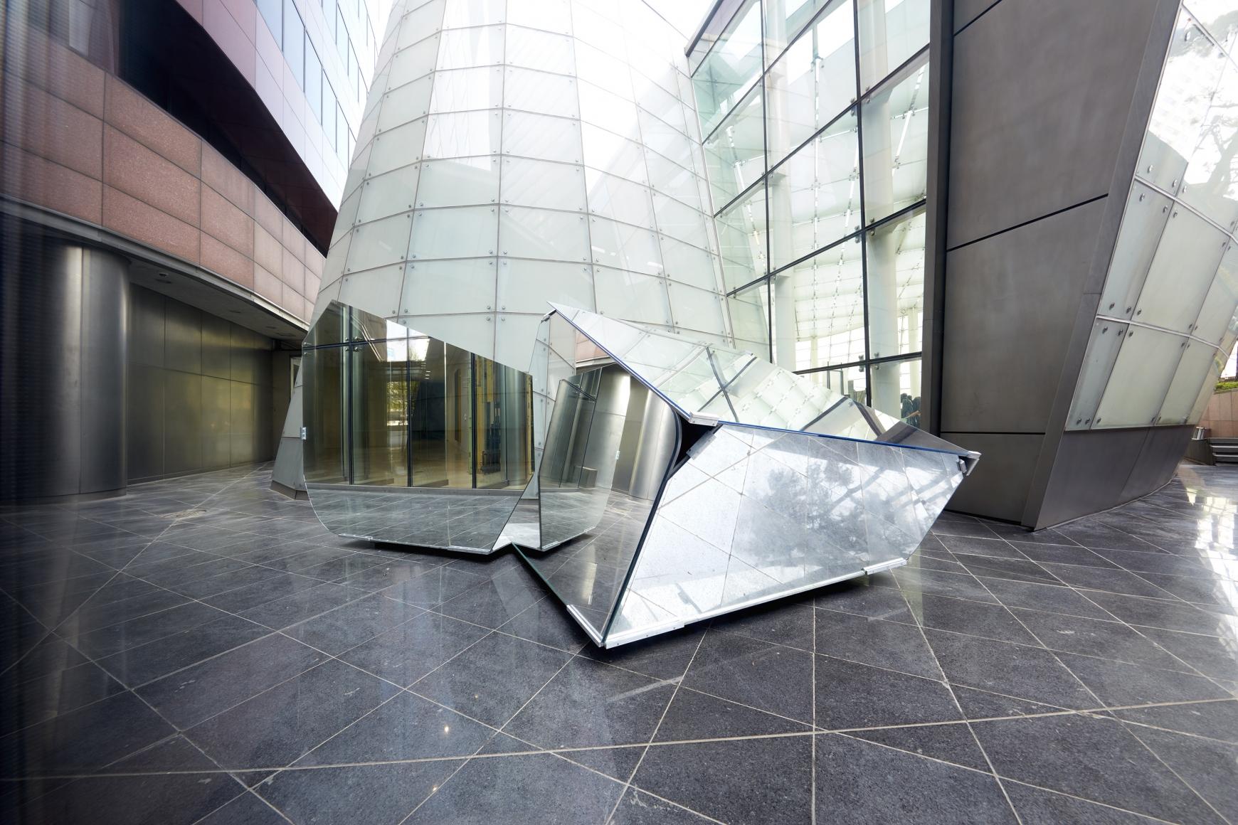 """劉韡, Panorama 裝置視圖,éŸ""""國首爾PLATEAU三星藝術博物館"""