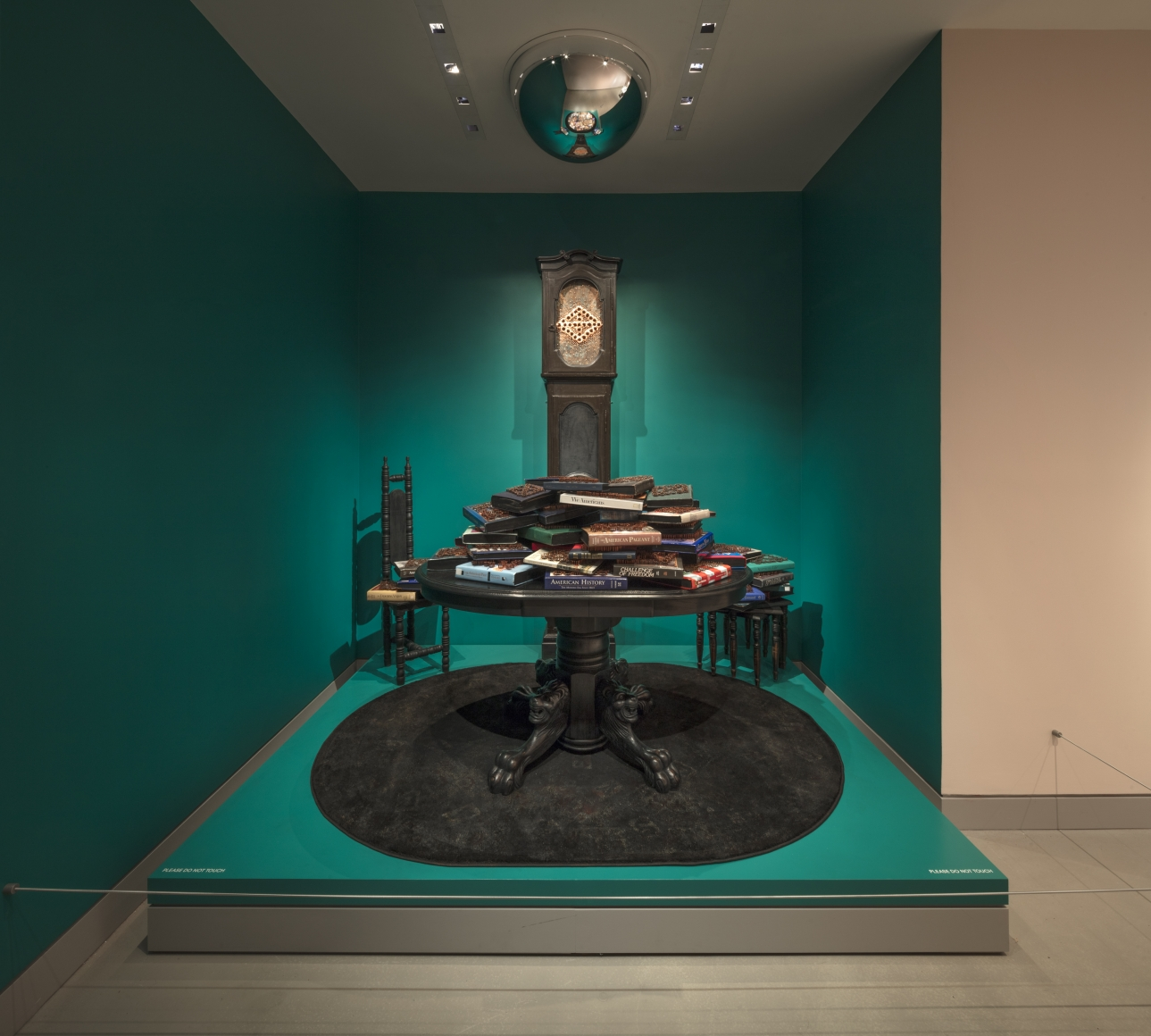 """Clapping with Stones: Art and Acts of Resistance,"" presented by the Rubin Museum of Art, installation view 2"