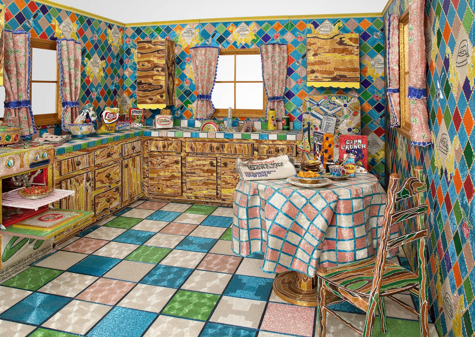LIZA LOU, Kitchen, 1991 – 1996