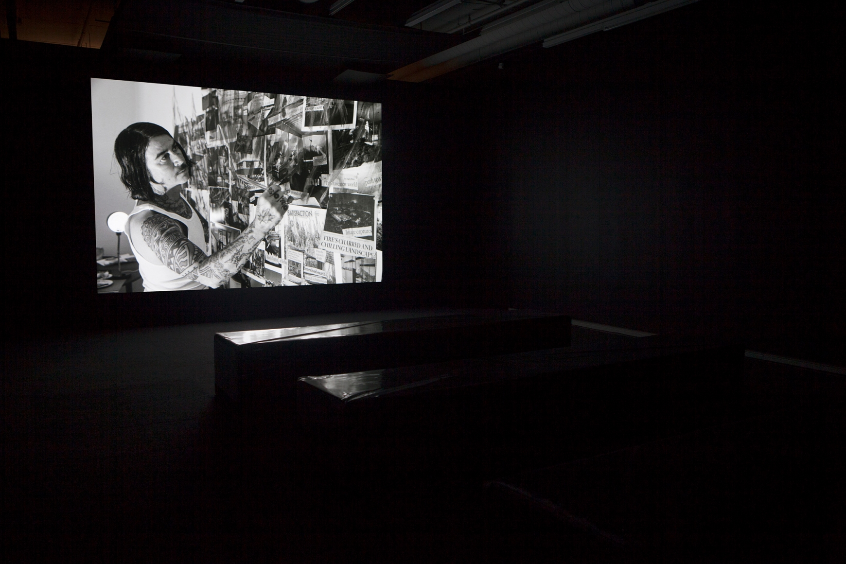 Catherine Opie: The Modernist, Installation view at the Plug In Institute of Contemporary Art, Winnipeg