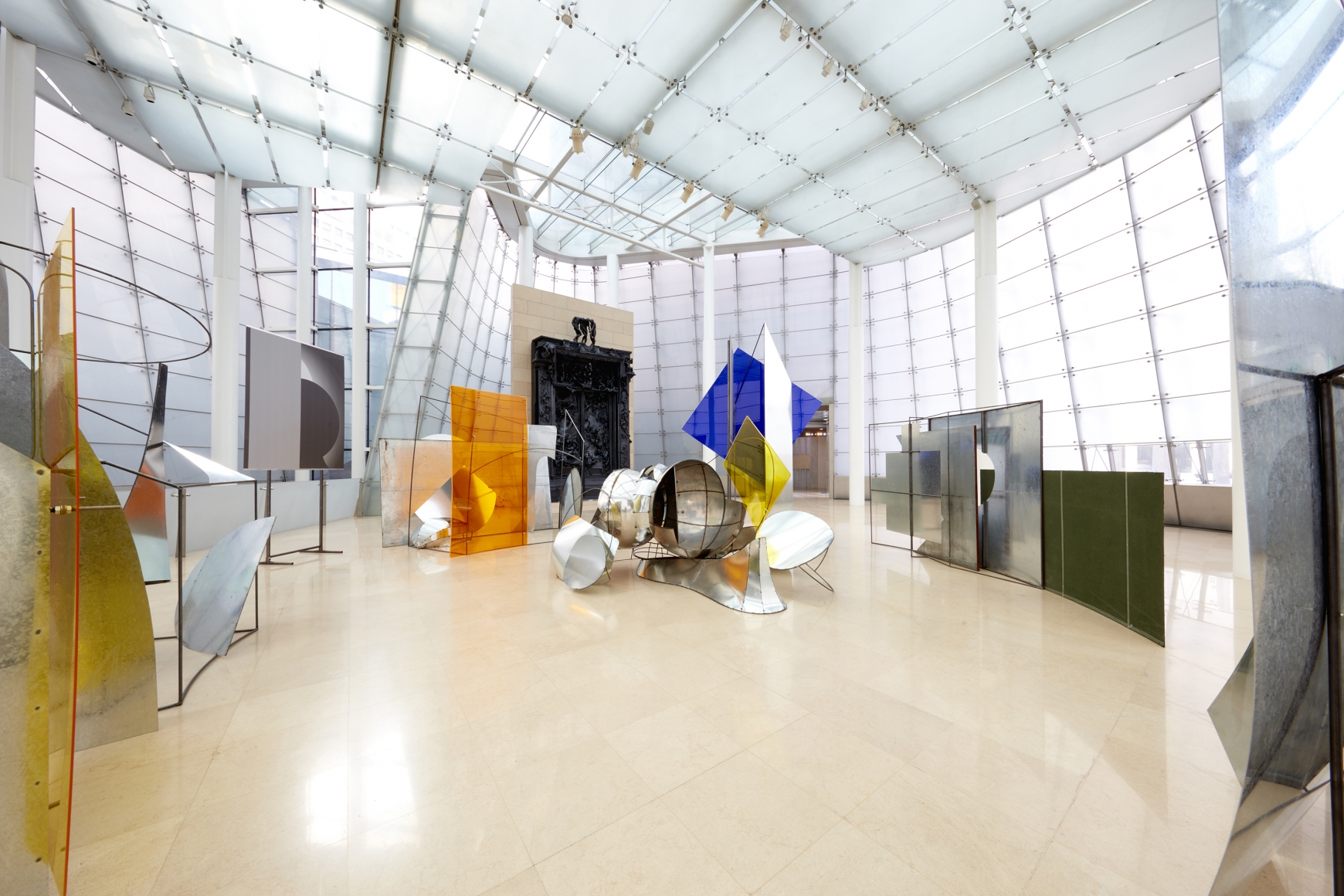"""劉韡,Panorama 裝置視圖,éŸ""""國首爾PLATEAU三星藝è¡""""博物館 二零一六年四月二十八日至八月十四日"""
