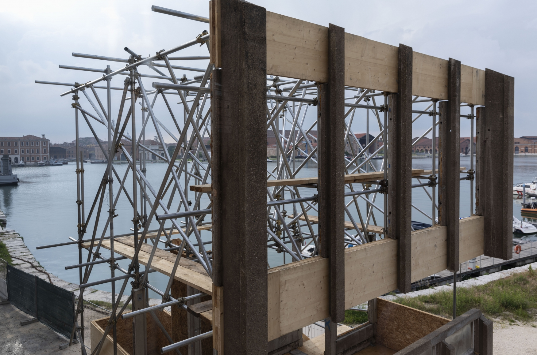 Do Ho Suh: Robin Hood Gardens: A Ruin in Reverse, Installation view, Pavilion of Applied Arts, Venice Architecture Biennale 2018,Venice, Italy