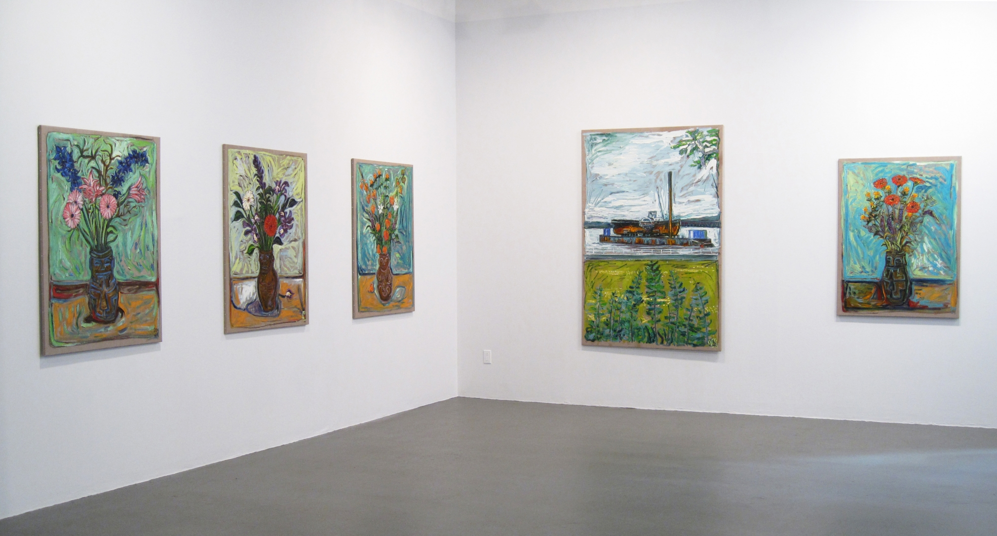 Billy Childish Installation view
