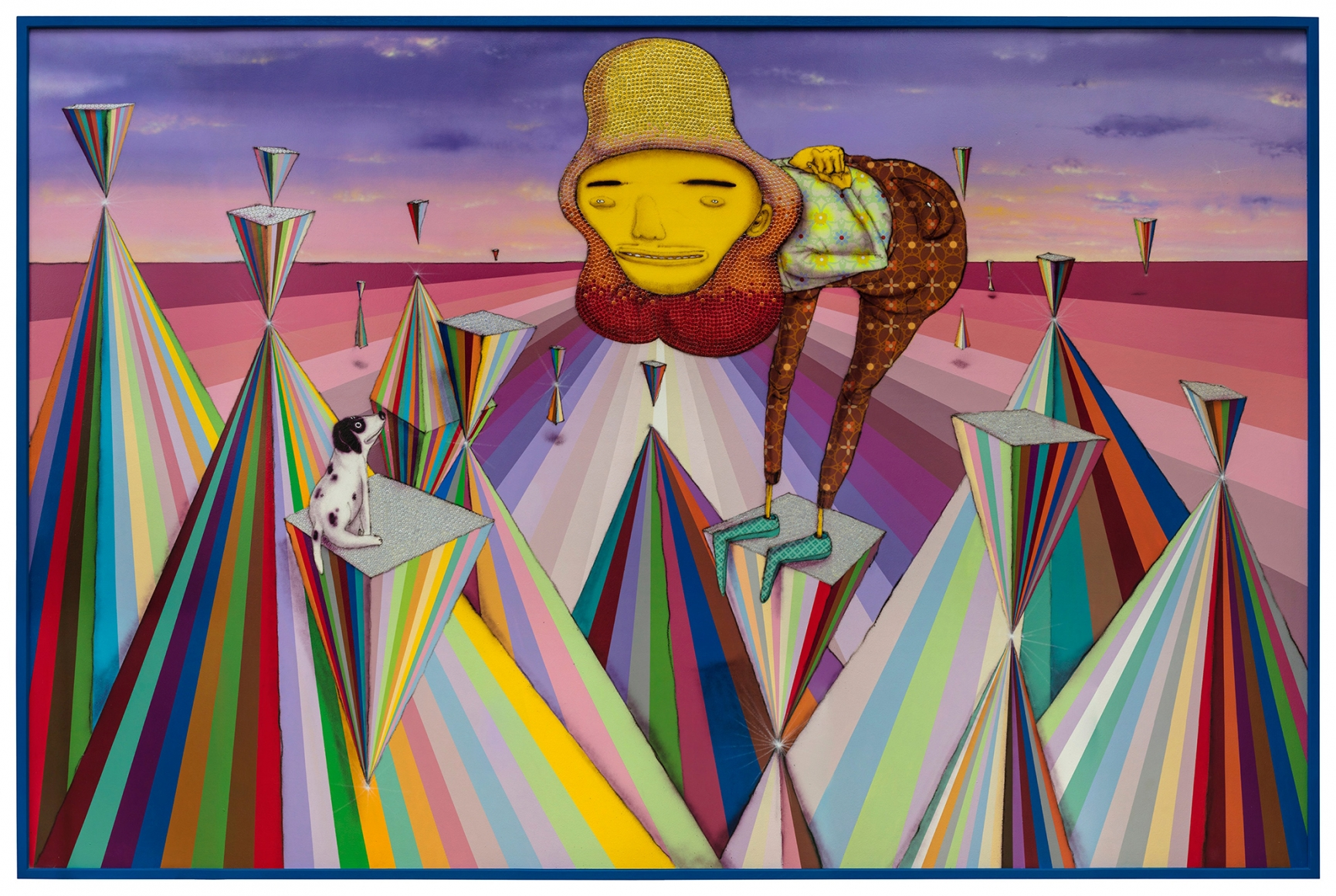 OSGEMEOS, The lyrical, 2018
