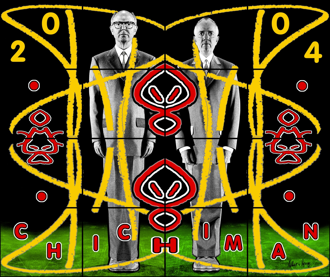 GILBERT & GEORGE, Chichiman, 2004