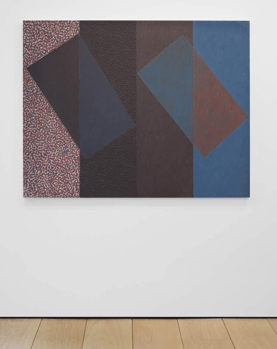 MCARTHUR BINION, Under In: And: Out of Violet, 1978-1979