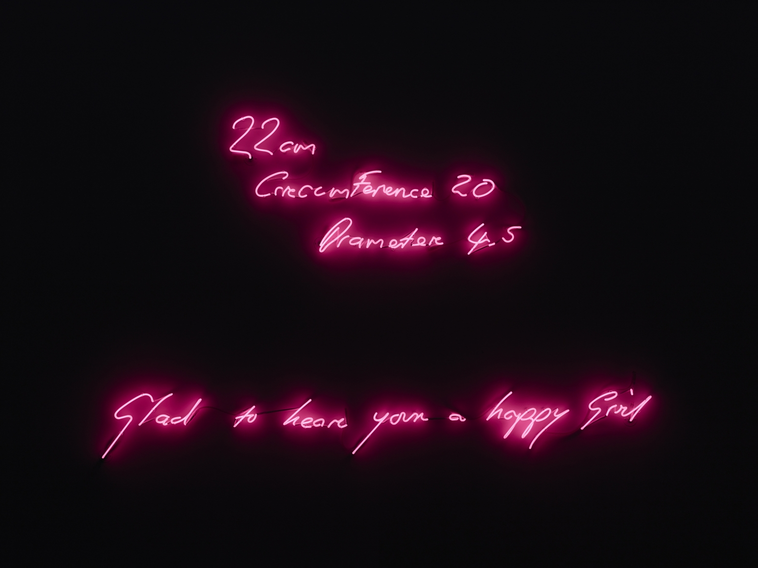 TRACEY EMIN, Very Happy Girl, 1999