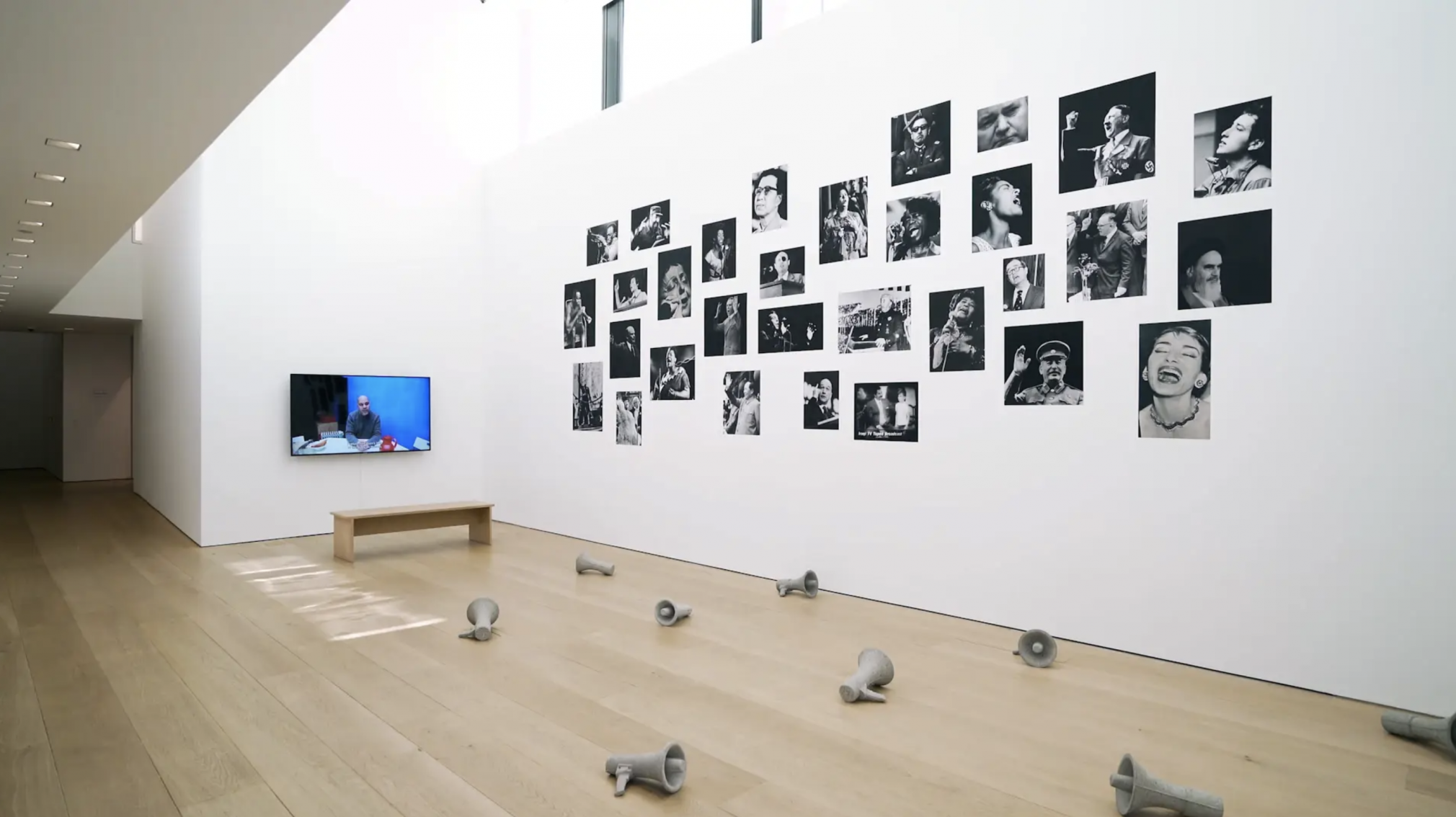 Exhibition walk-through, Video produced by Naixin Xu