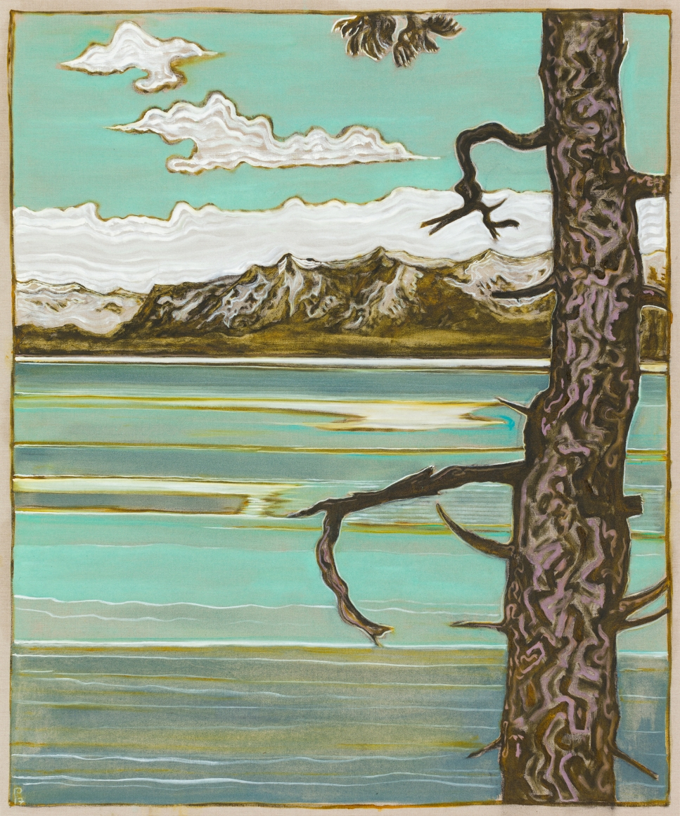BILLY CHILDISH, pine and mountains, 2017