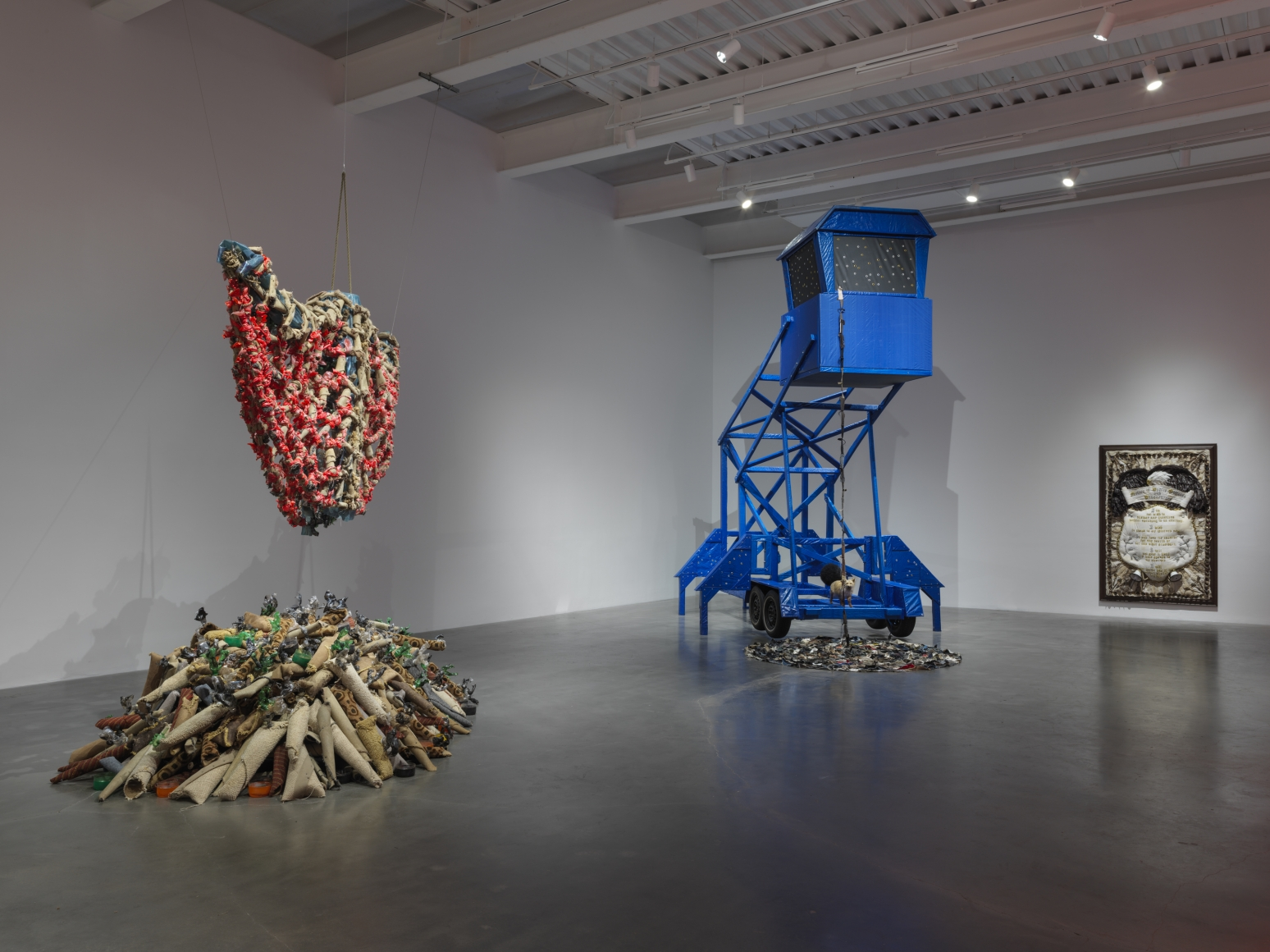 Installation view of We the People, New Museum, New York