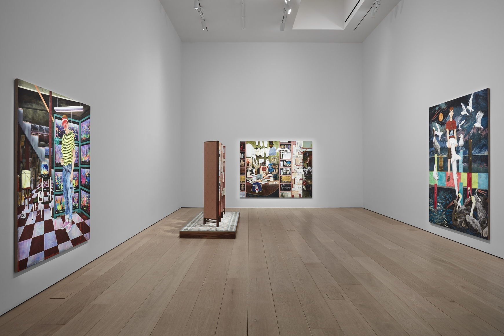 Hernan Bas, TIME LIFE  Installation view 3