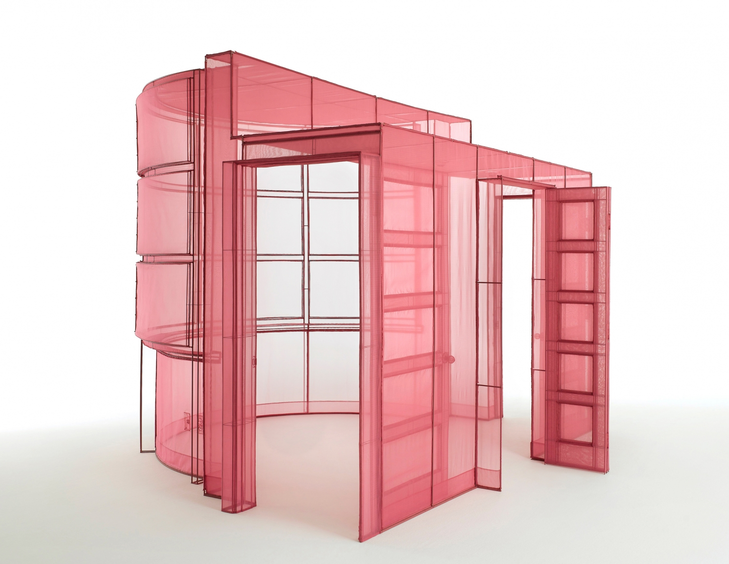 DO HO SUH, Hub-2, Breakfast Corner, 260-7, Sungbook-Dong, Sungboo-Ku, Seoul, Korea, 2018