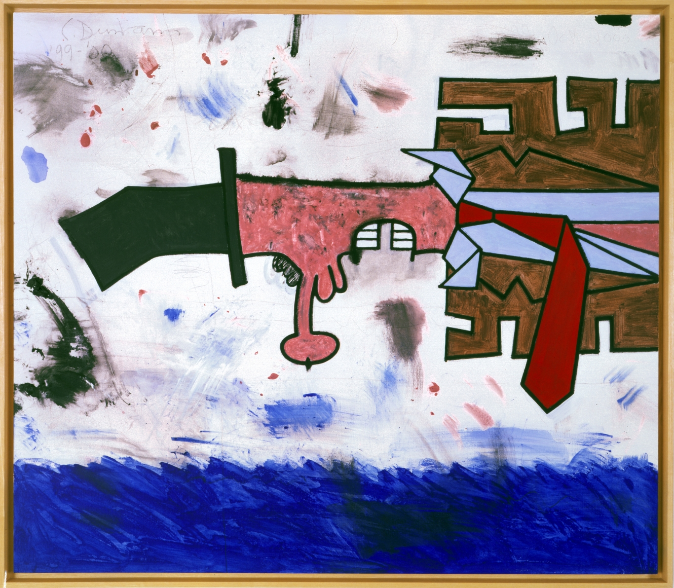 CARROLL DUNHAM Over the water, 1999/2000