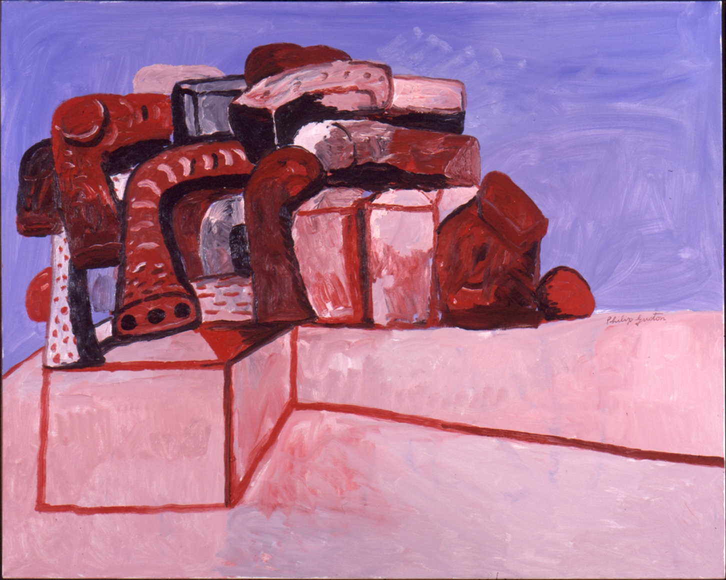 PHILIP GUSTON Ledge, 1979