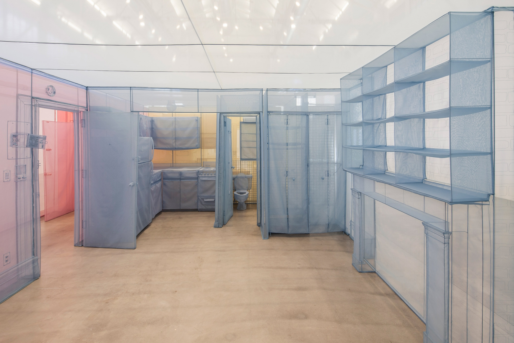 DO HO SUH, Apartment A, Unit 2, Corridor, and Staircase, 348 West 22nd Street, New York, NY 10011, USA