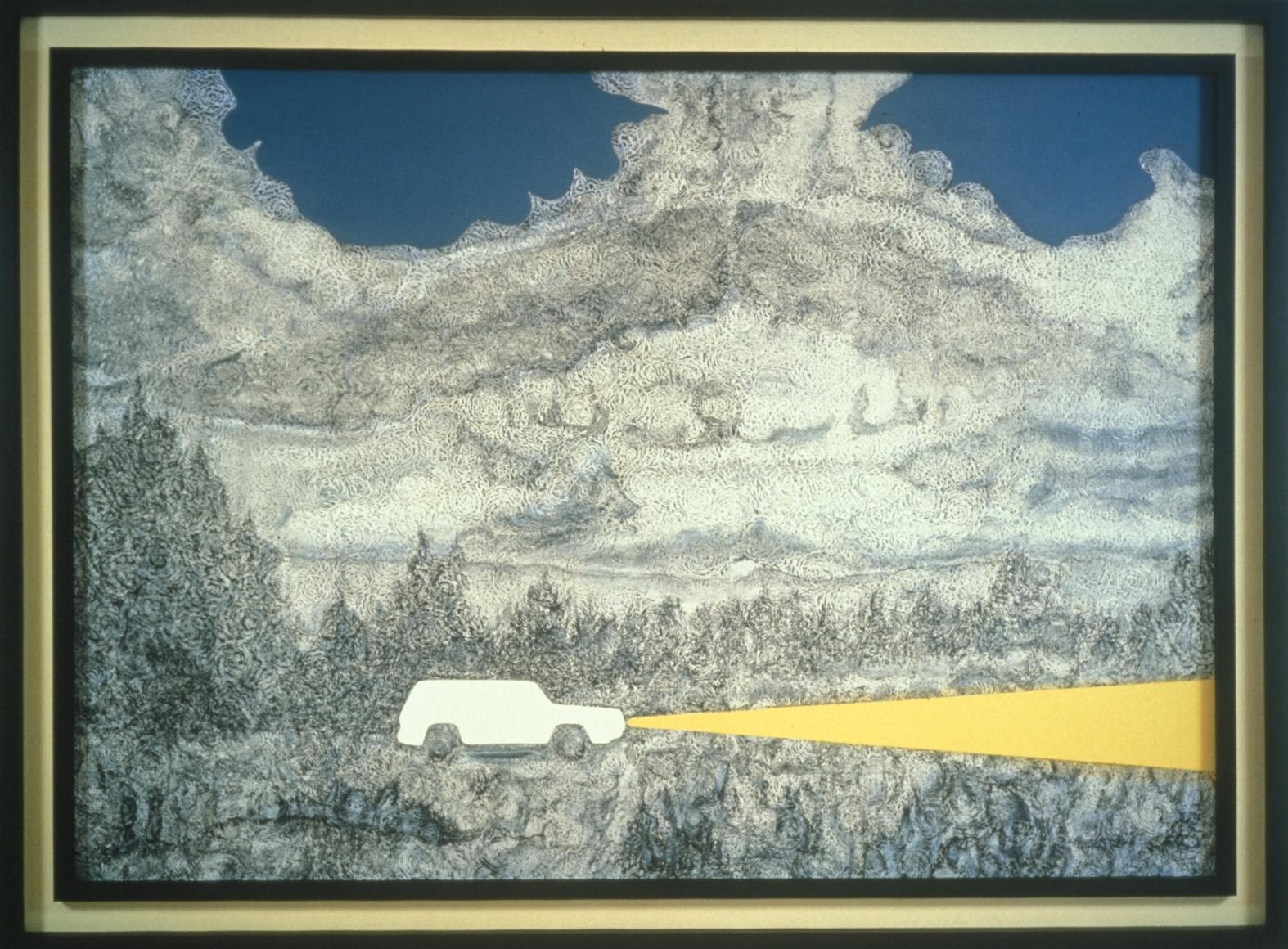 RICHARD ARTSCHWAGER, White Cherokee (Pastoral I), 1991-98