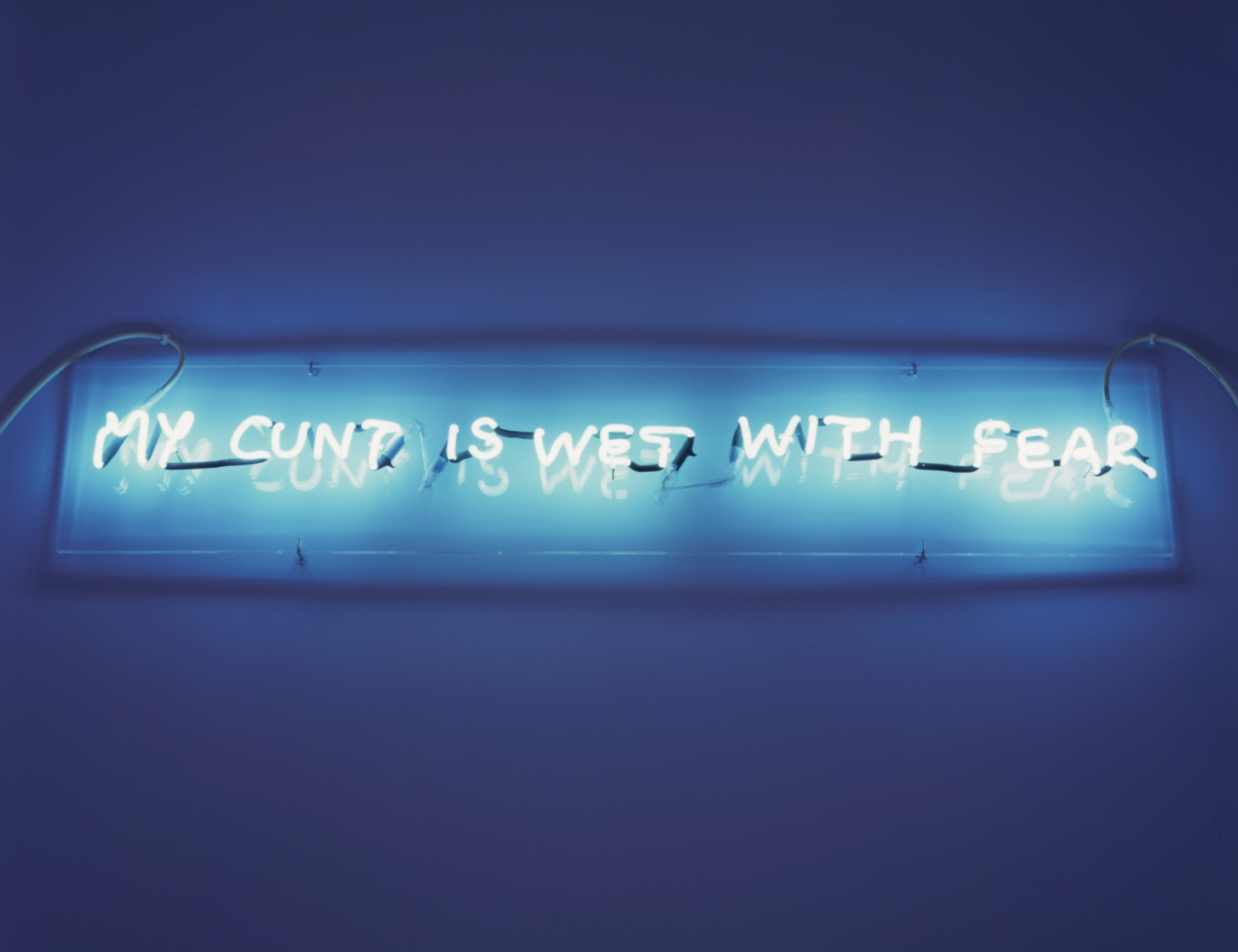 TRACEY EMIN, My Cunt is Wet With Fear, 1998