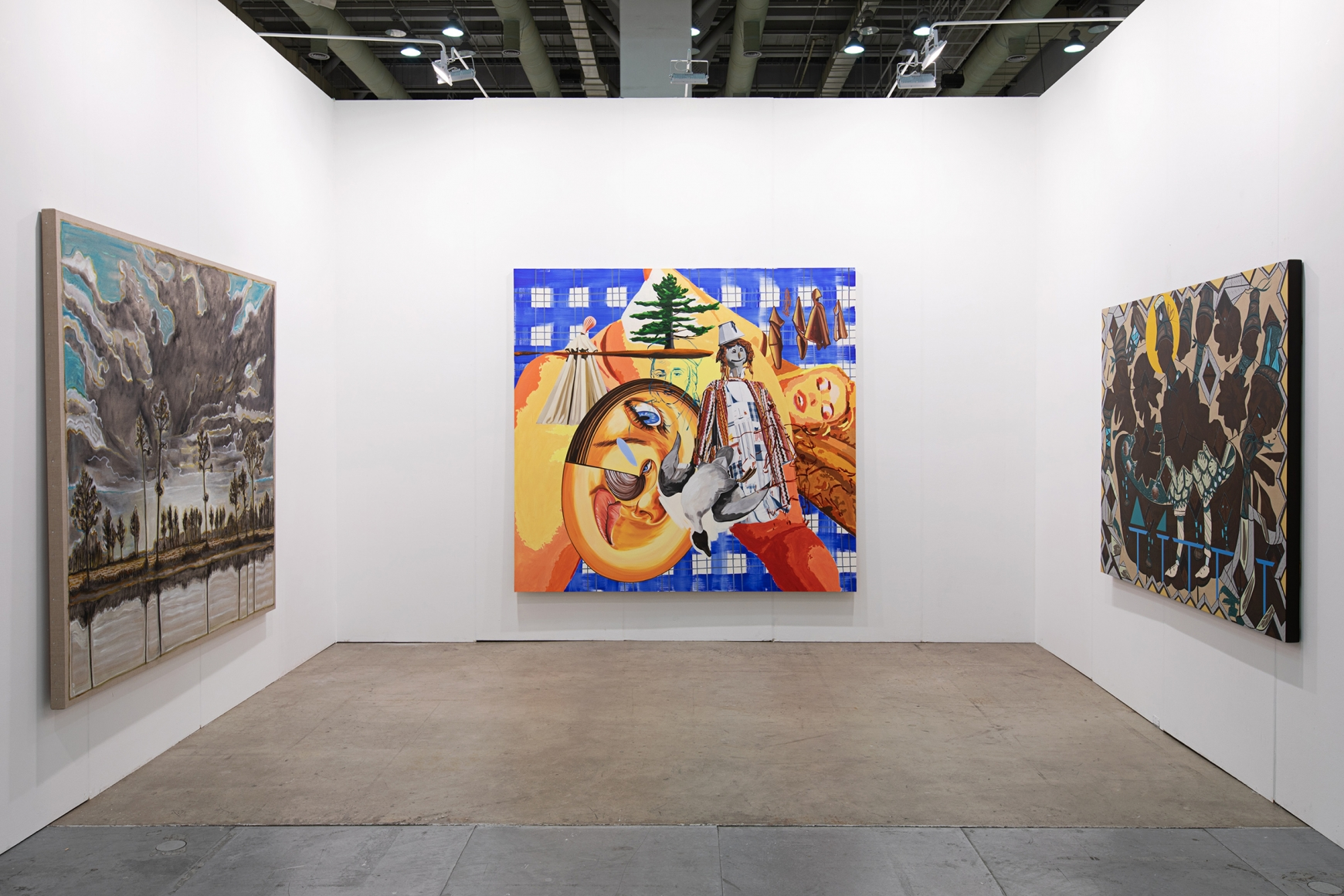 Seventh installation view of Lehmann Maupin's booth at Art Busan & design 2020
