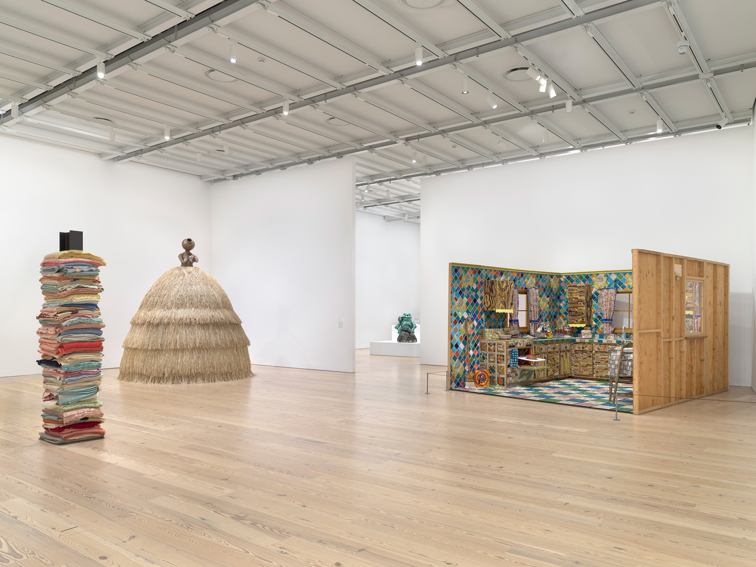 Making Knowing: Craft in Art, 1950–2019, Installation view, Whitney Museum of American Art, New York, 2020–2021