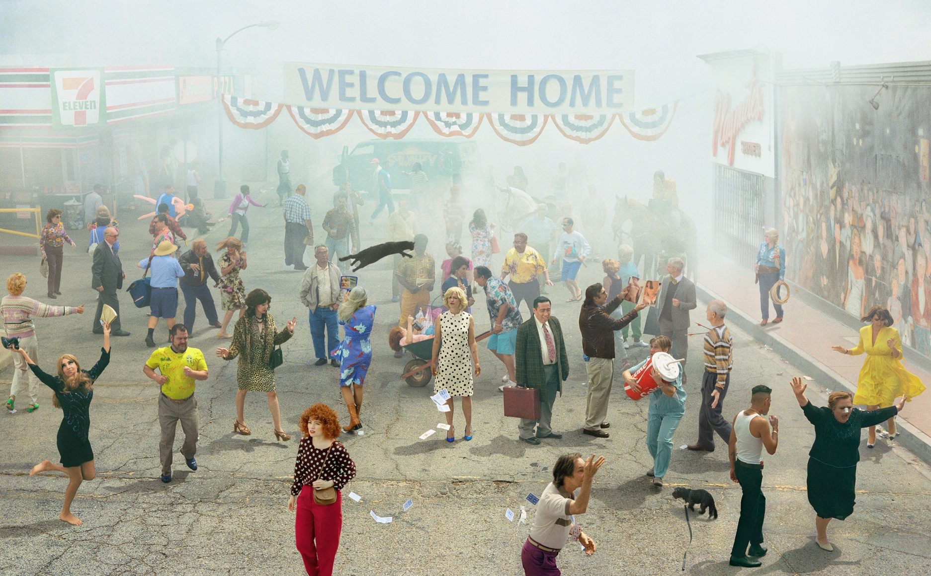 ALEX PRAGER, Welcome Home, 2019