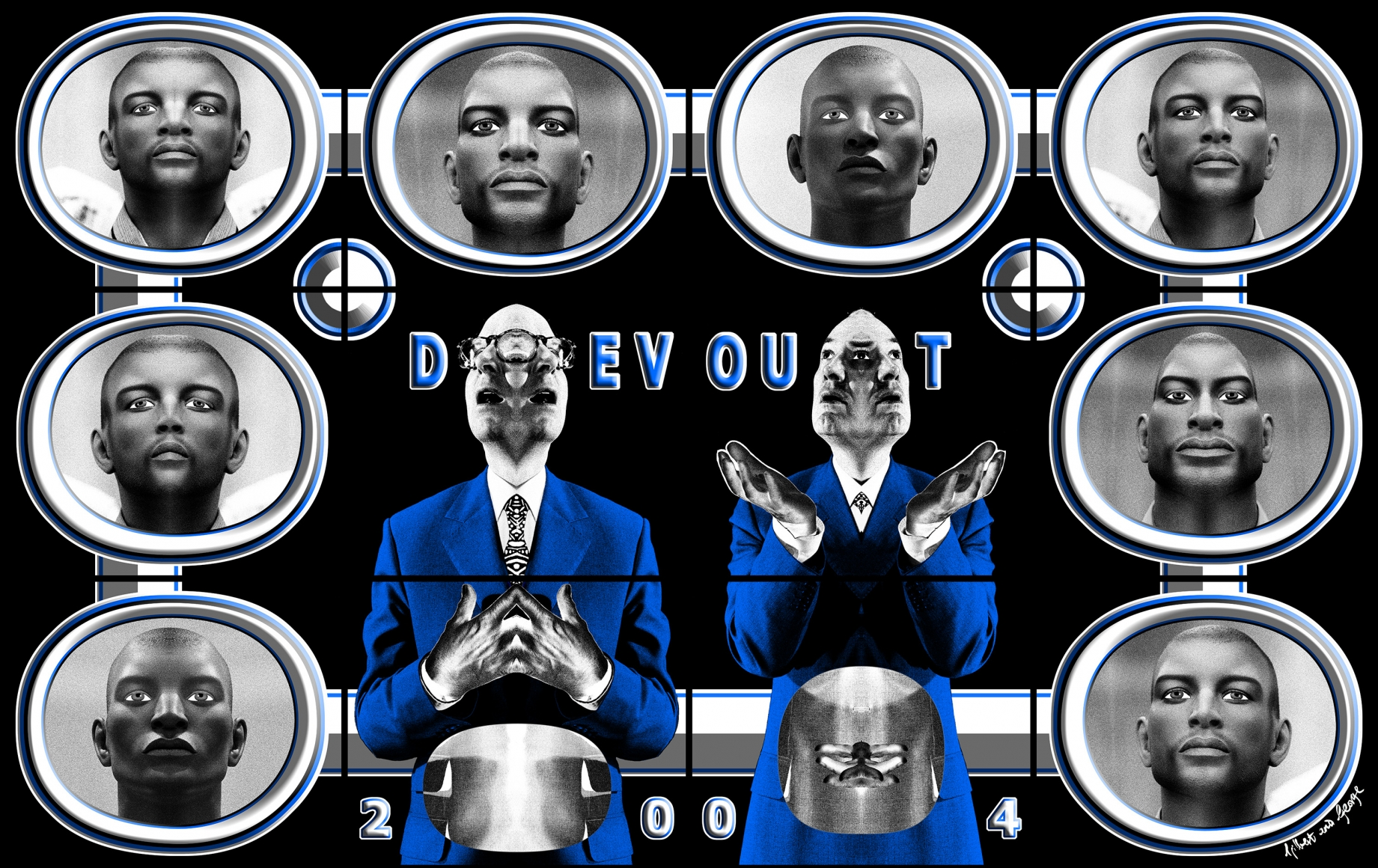 GILBERT & GEORGE, Devout, 2004