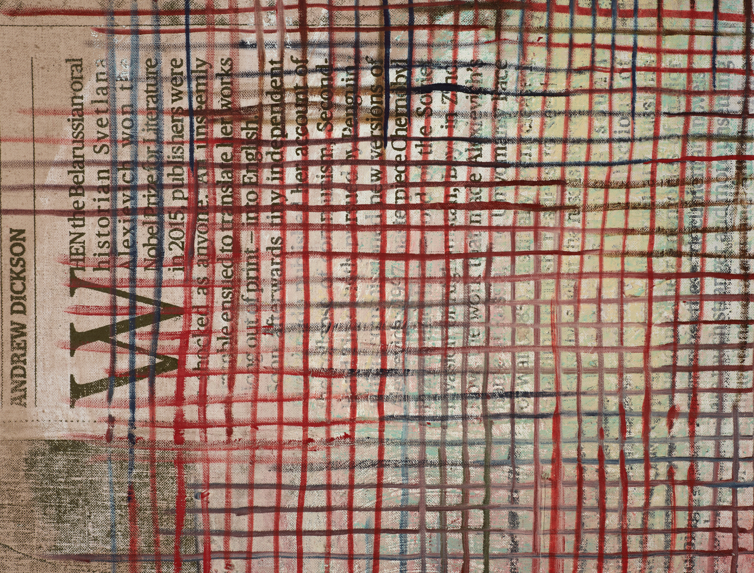 MANDY EL-SAYEGH, Net-Grid (new wave), 2019 (detail)