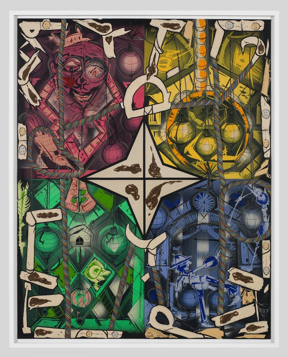 LARI PITTMAN, Four Color Seasons, 2013