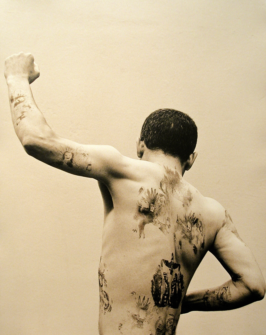 SADEGH TIRAFKAN, Body Sign #4, 2001