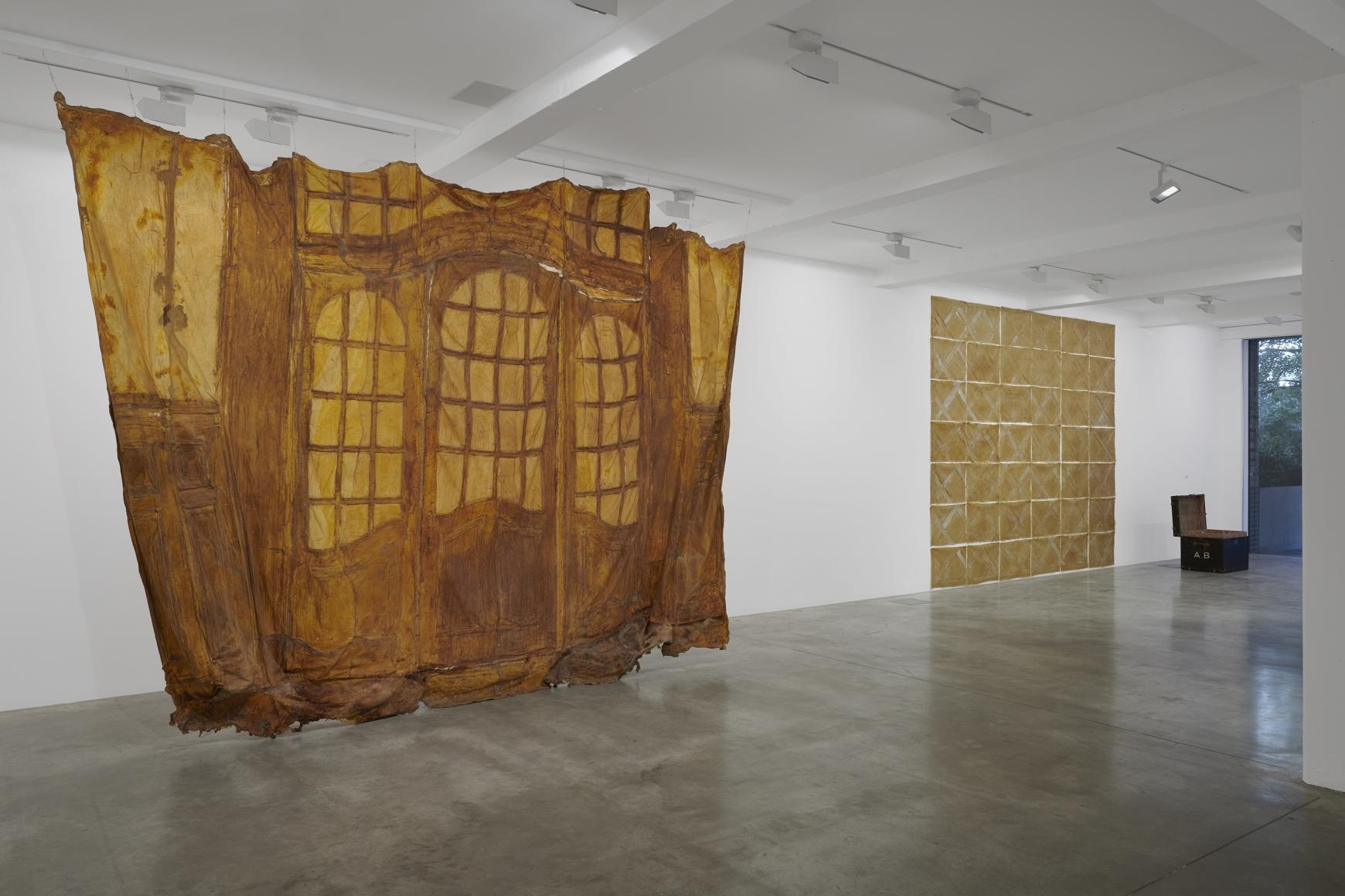 Heidi Bucher Installation view,Parasol unitfoundation for contemporary art, London, UK