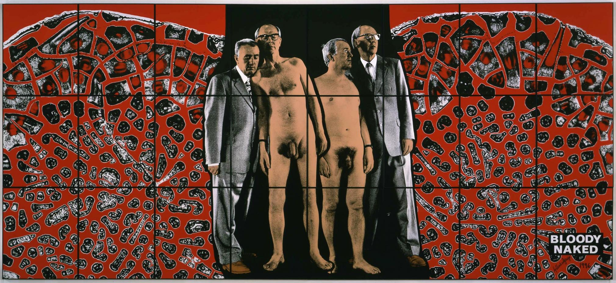 比利·查爾迪斯 Bloody Naked, 1996