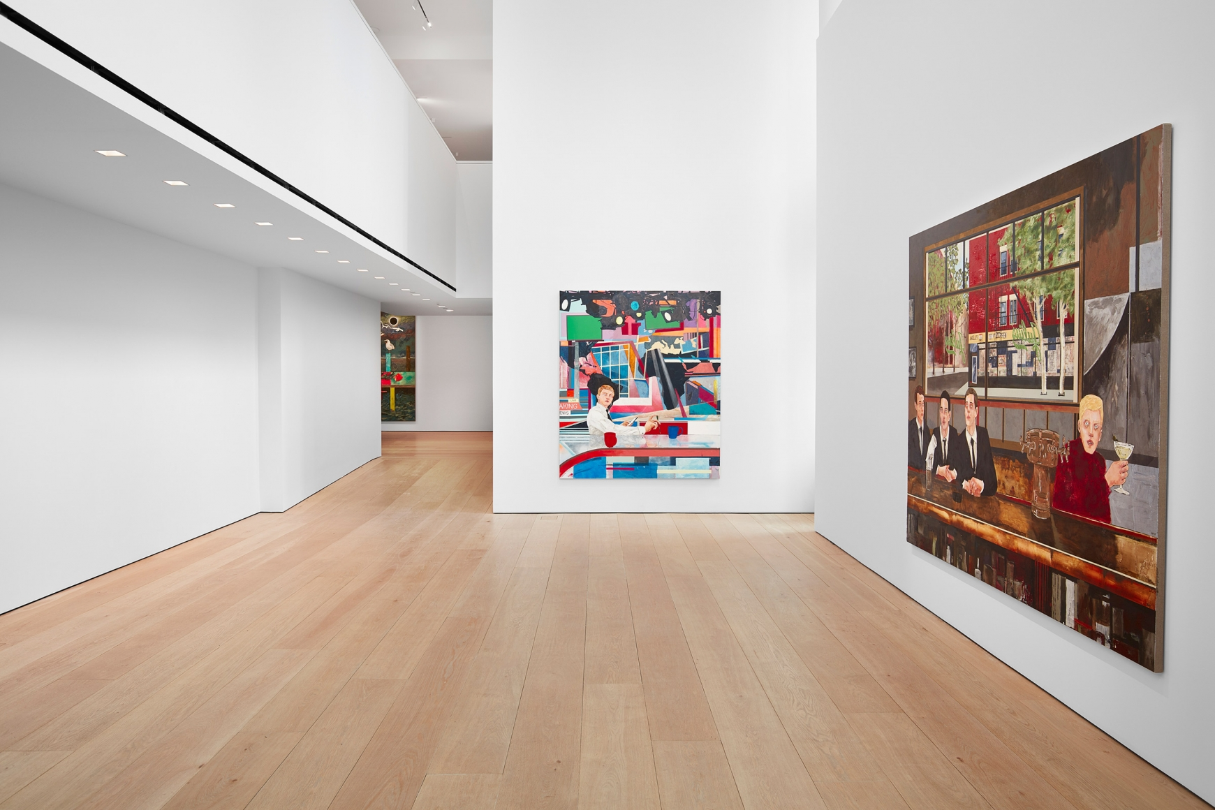 Hernan Bas, TIME LIFE  Installation view 1