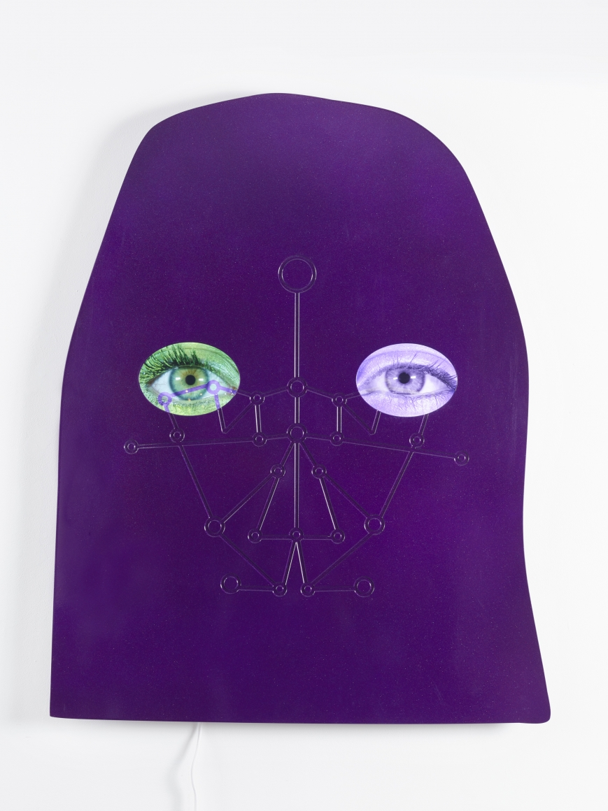 TONY OURSLER 0-100, 2015