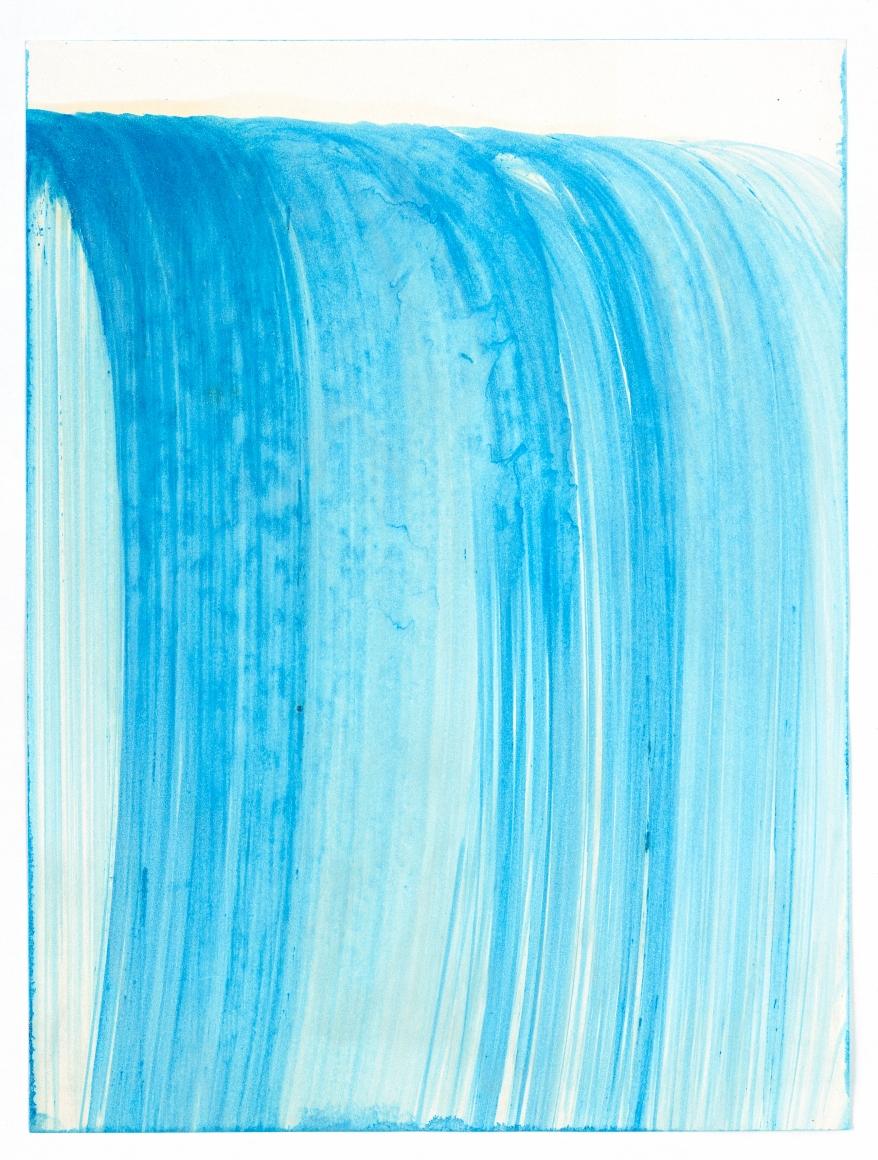 HEIDI BUCHER, Untitled (Wasserzeichnung / Water drawing), 1985