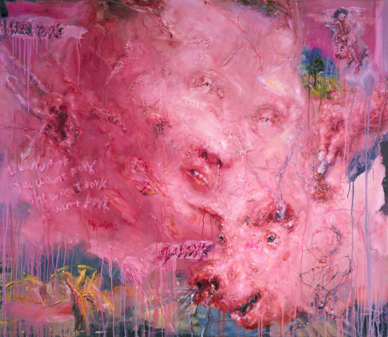 LIU WEI Boy, 1997