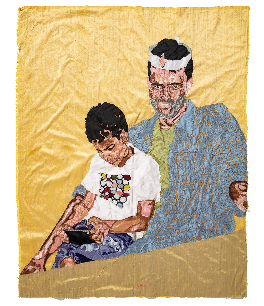 BILLIE ZANGEWA, Father and Child, 2019