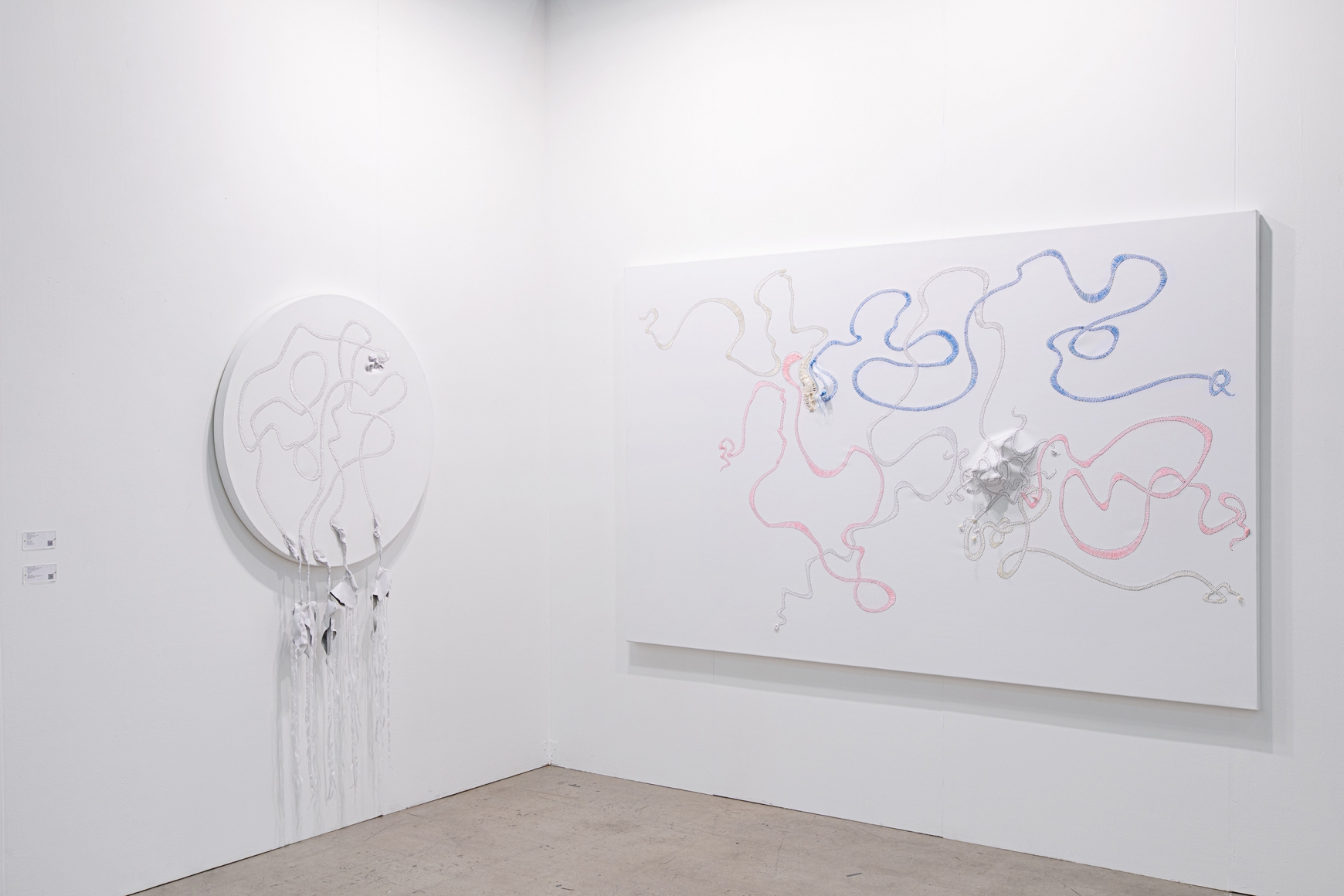 Eighth installation view of Lehmann Maupin's booth at Art Busan & design 2020