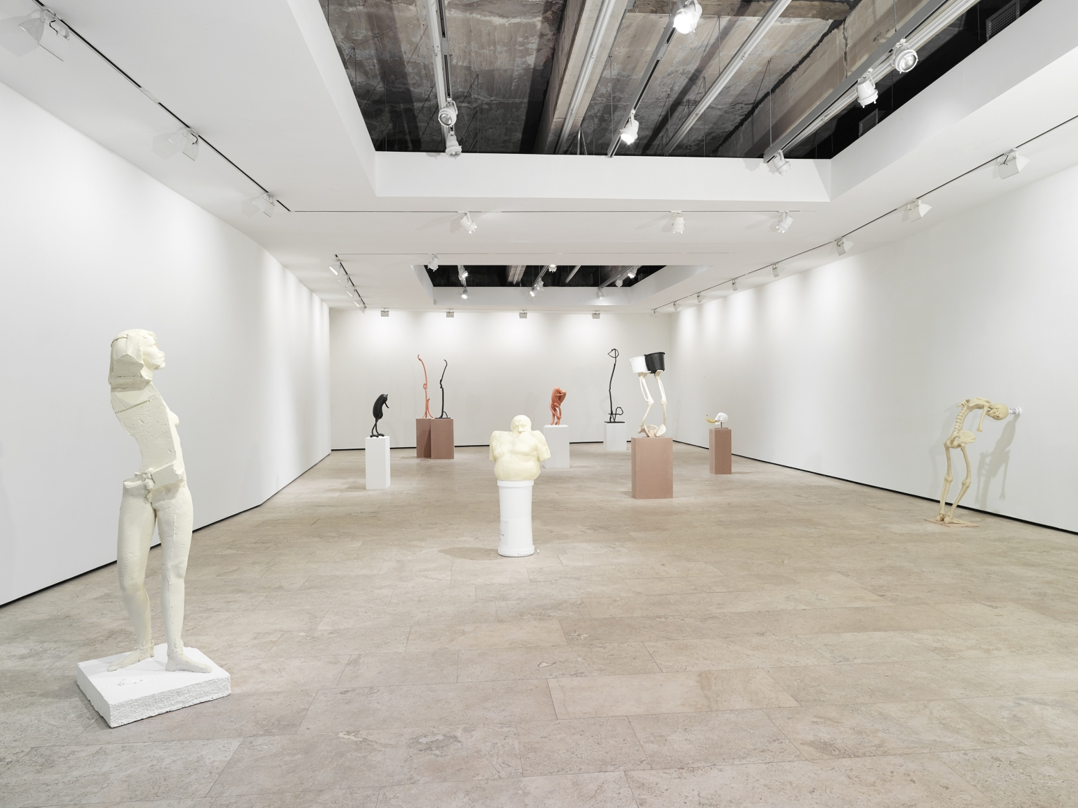 ERWIN WURM, Synthesa, Installation view