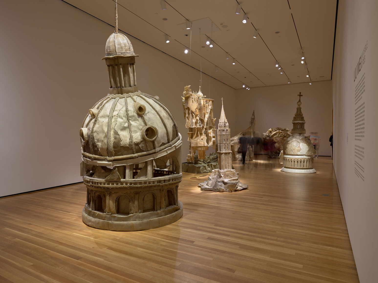 View 2 of Liu Wei's solo museum exhibition titled Invisible Cities at the Cleveland Museum of Art