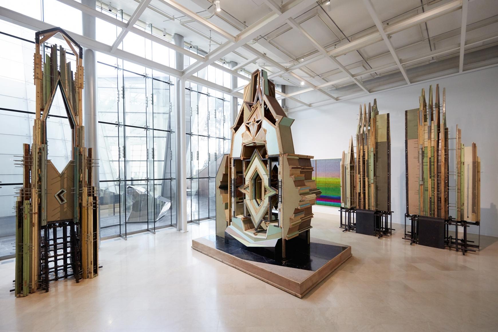 Liu Wei,Panorama Installation view,PLATEAU Samsung Museum of Art, Seoul