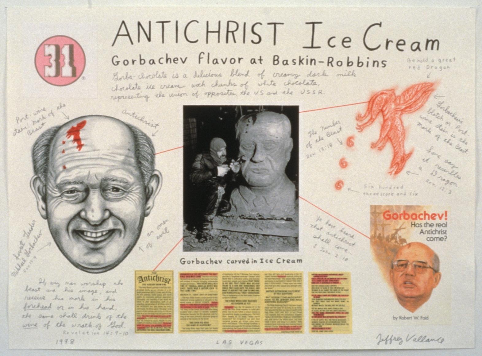 JEFFREY VALLANCE, Antichrist Ice Cream