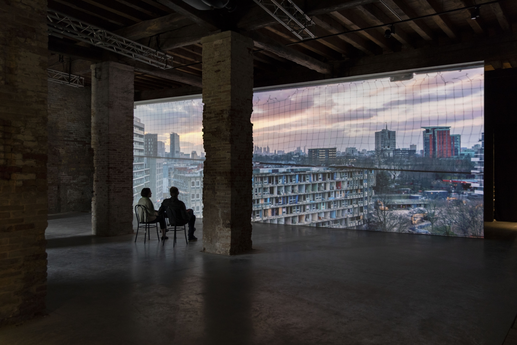 Do Ho Suh: Robin Hood Gardens: A Ruin in Reverse, Installation view, 16th Venice Biennale of Architecture, Italy, 2018