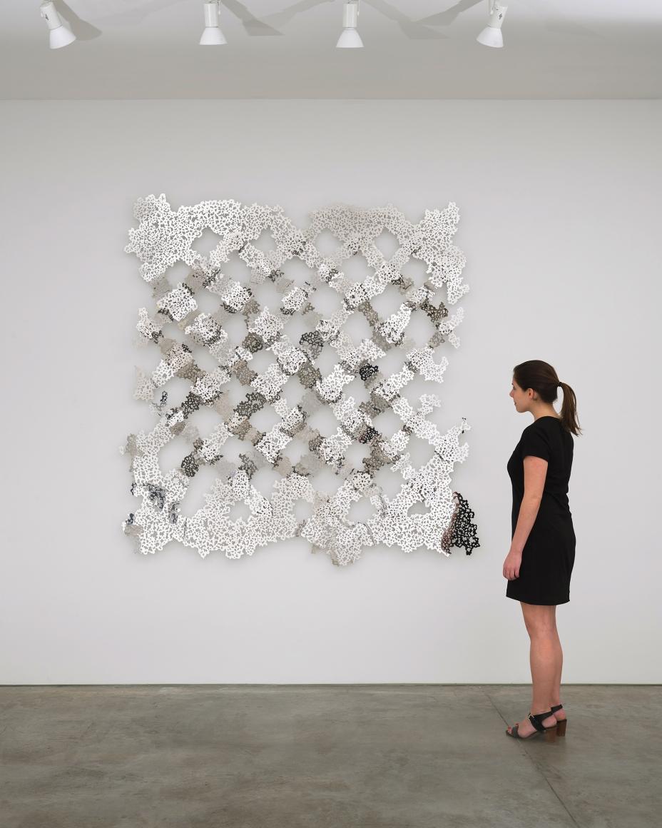 TERESITA FERNÁNDEZ, Untitled(Fence), 2018