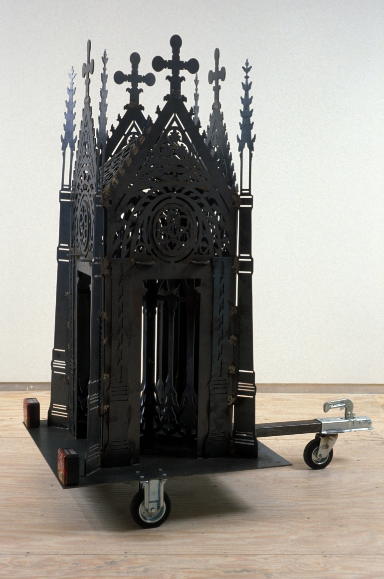 WIM DELVOYE, Cathedral, 1996