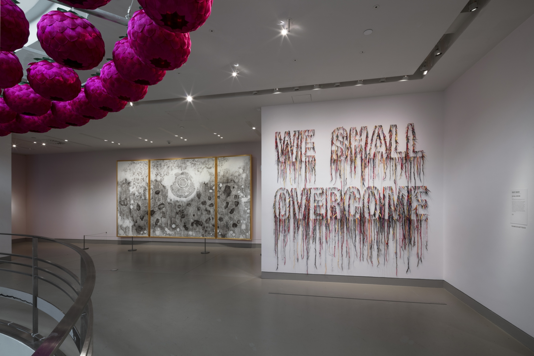 """Clapping with Stones: Art and Acts of Resistance,"" presented by the Rubin Museum of Art, installation view 6"