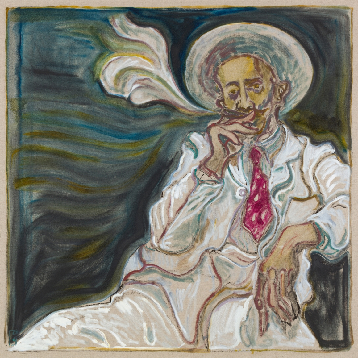 BILLY CHILDISH, smoker, 2019