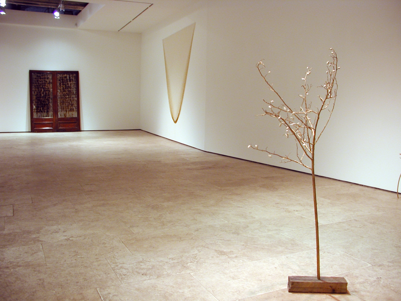 ANYA GALLACCIO: love is only a feeling Lehmann Maupin North Gallery view 1.