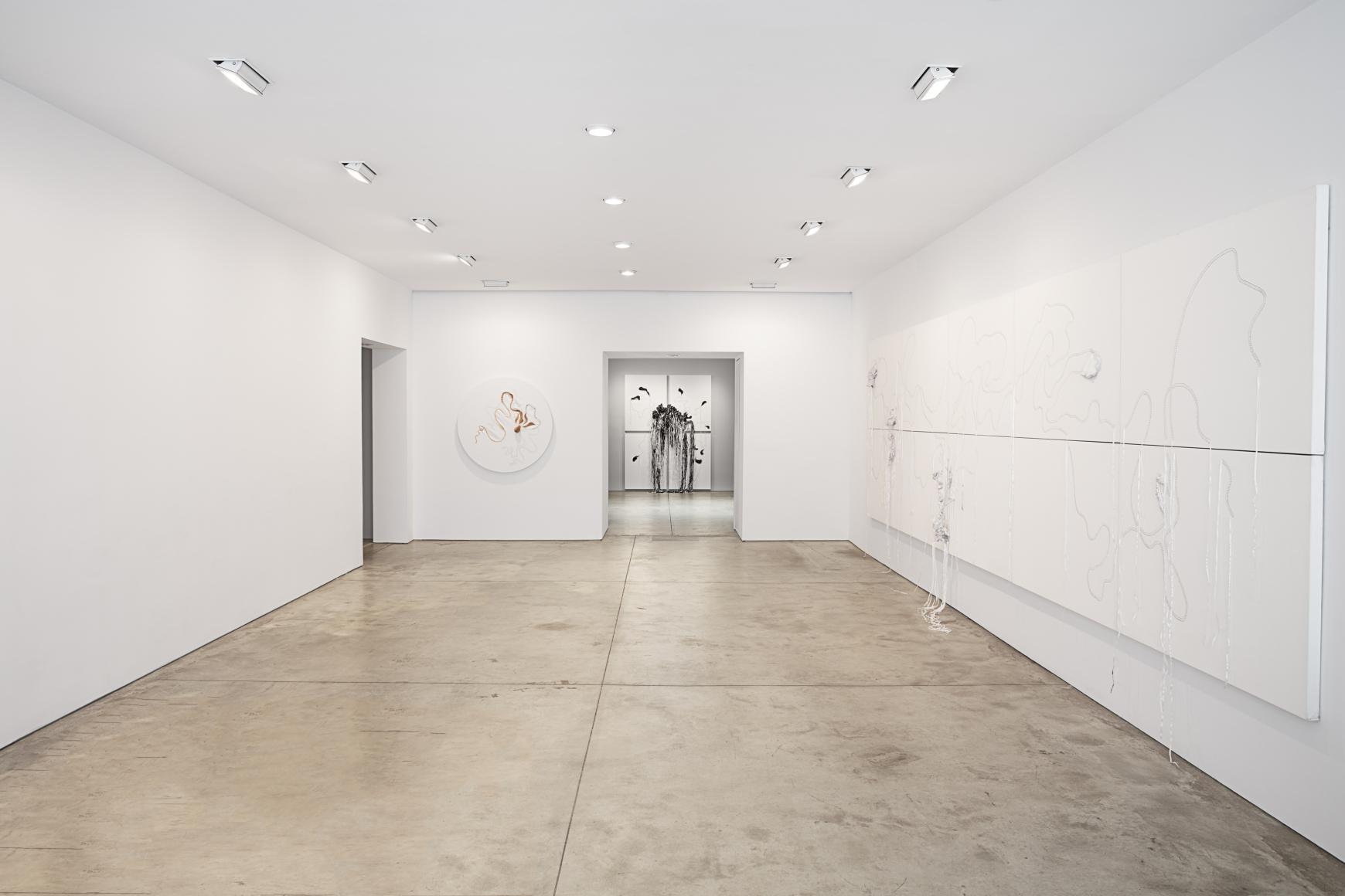 Nicholas Hlobo, Ulwamkelo installation view 1