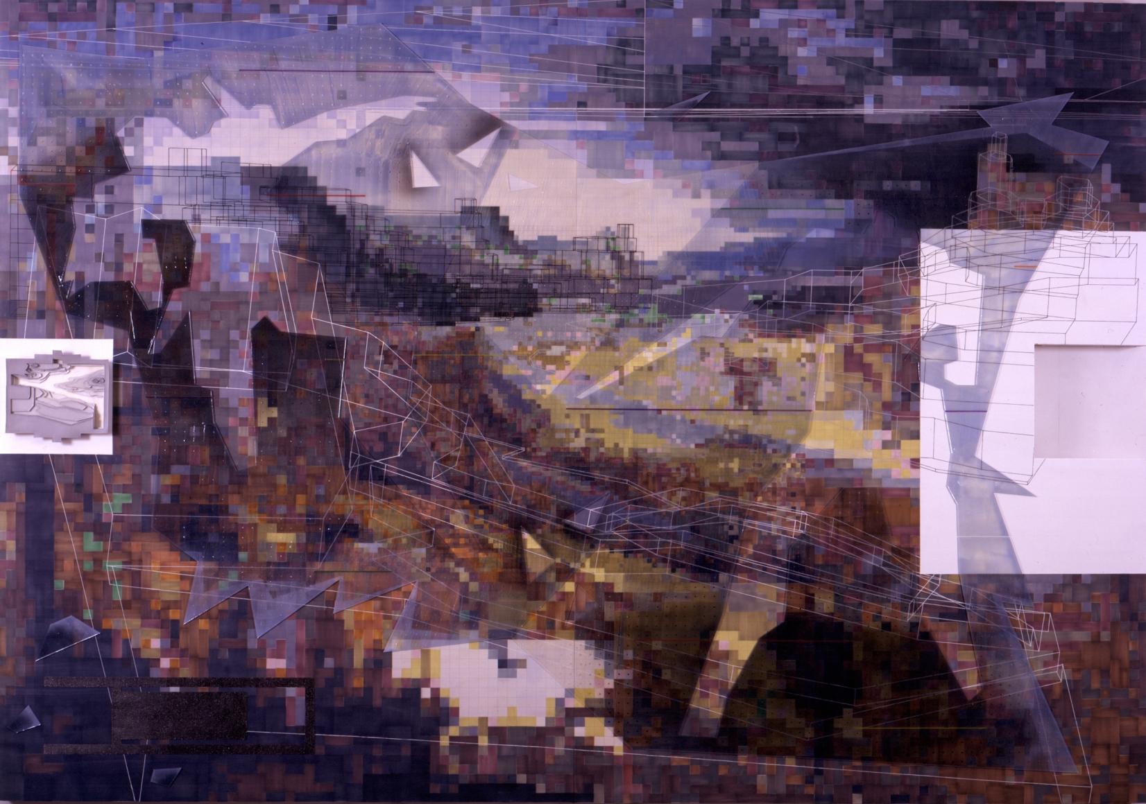 PEDRO BARBEITO, Skirmish in the Mountains, 2001/2002