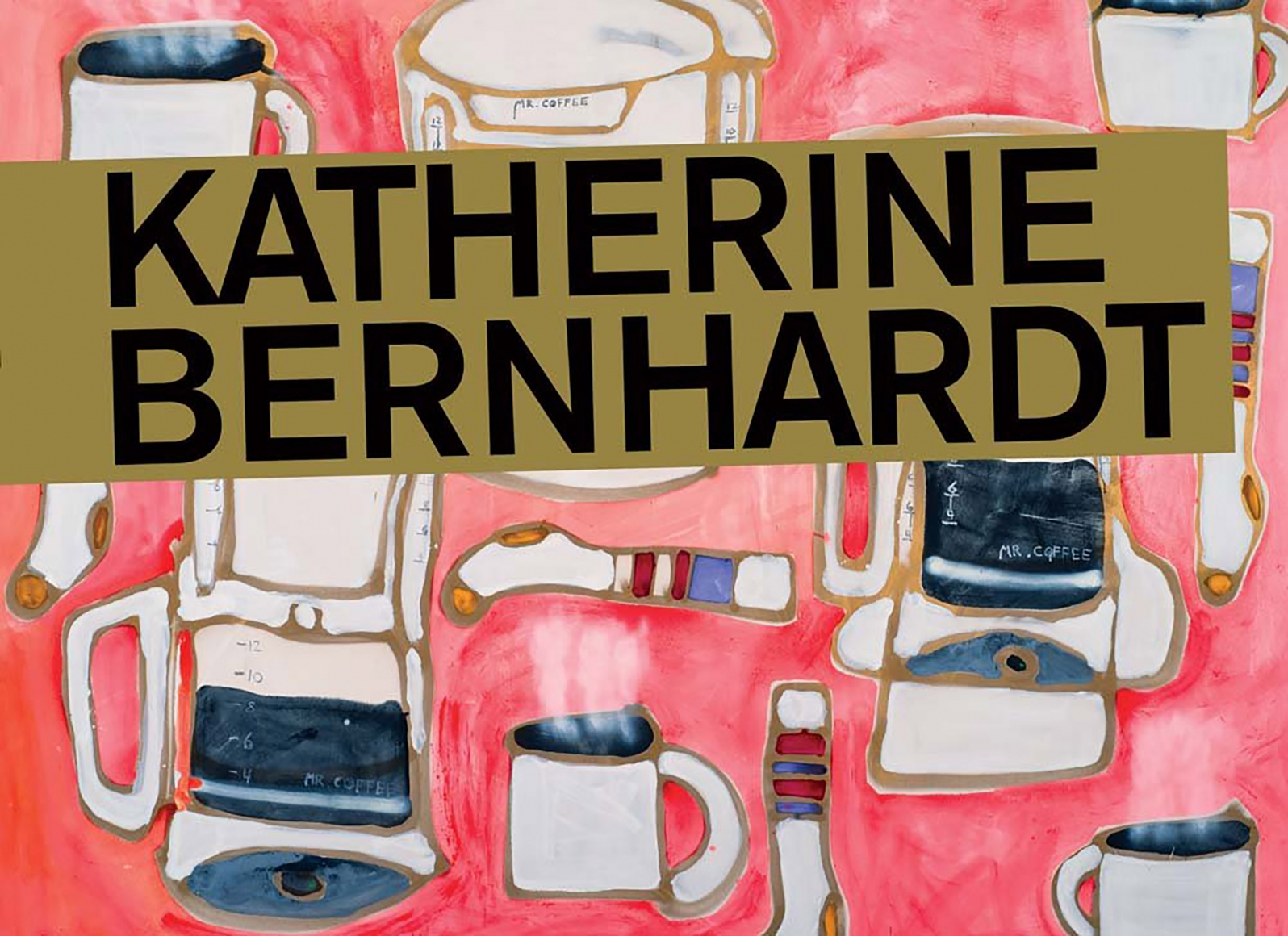 Cover of Katherine Bernhardt, published by CANADA, New York, 2017